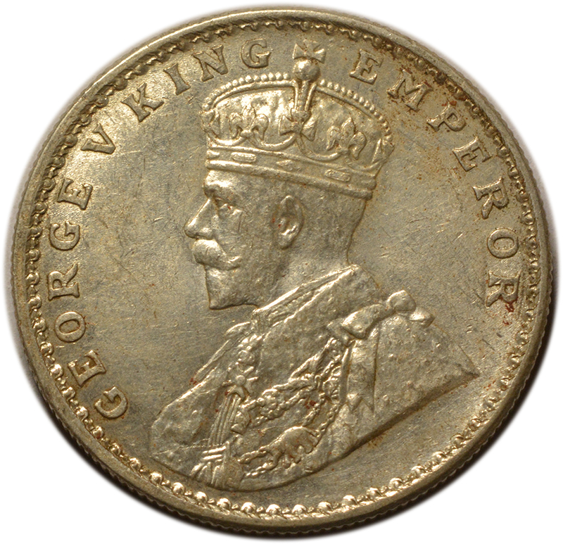 King George V One Rupee Coins India