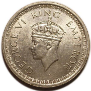 Coins of King George V